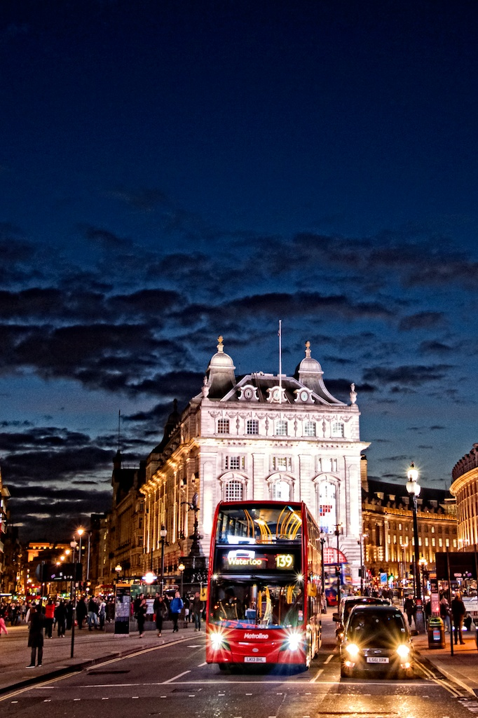 """Piccadilly Circus"", London, England"