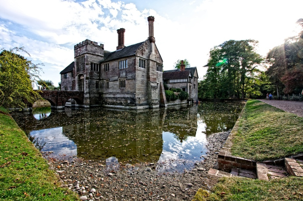 """The Moated Manor"", Warwickshire, England"