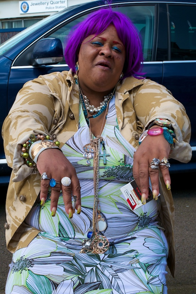 """Look At My Jewels"", Jewellery Quarter, Birmingham, England"