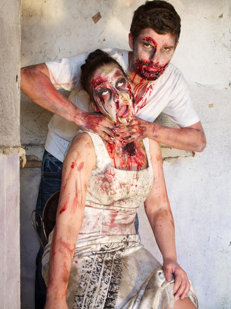 Ro Tearle and Jamie Chapman