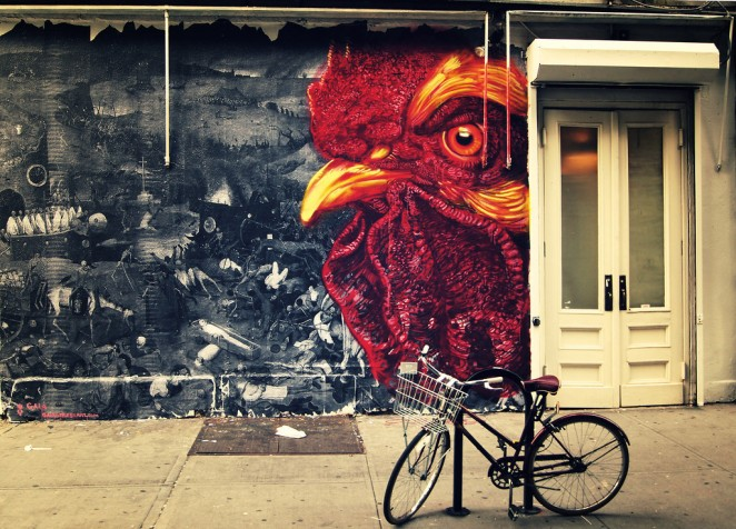 Sidewalk Dream - Street Art - New York City