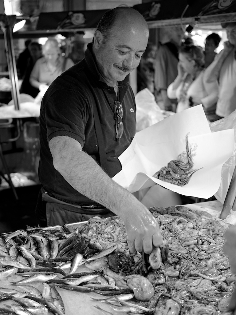 June - Venice Fishmonger