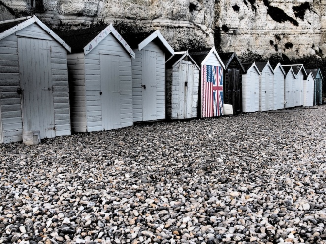 August - Beach Huts in Devon