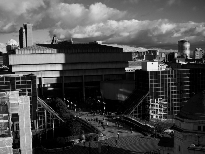 View from the New Library of Birmingham