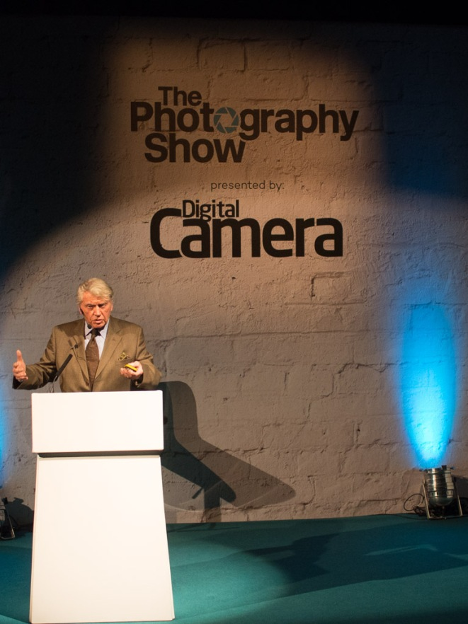 Don McCullin at The Photography Show