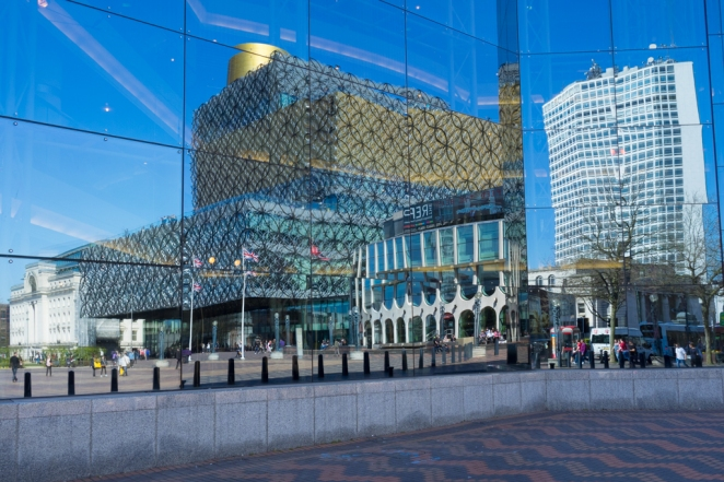 Birmingham Library and Alpha Tower