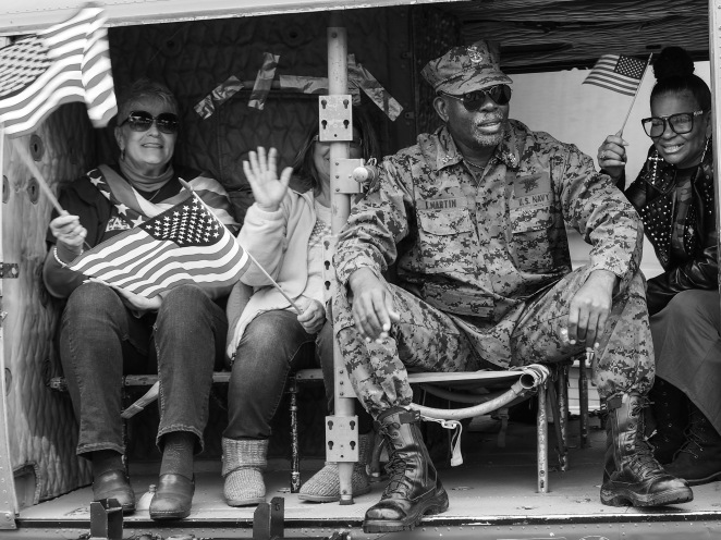 Veteran's Day Parade - Fishermans Wharf