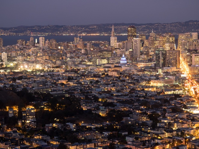 City View from the Twin Peaks