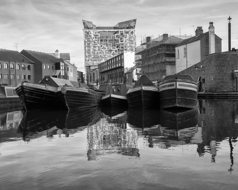 Gas Street Basin and the Cube