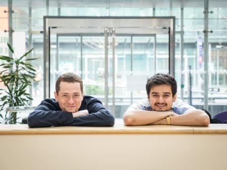 Chris and Bhish - School of Code