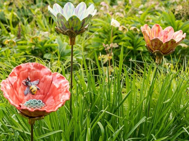 Garden Flowers by Renee Kilburn