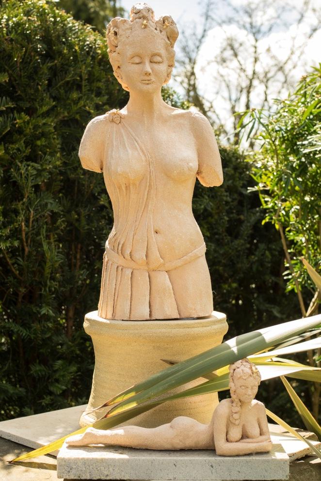 Melissa the Bee Goddess & Small Goddess
