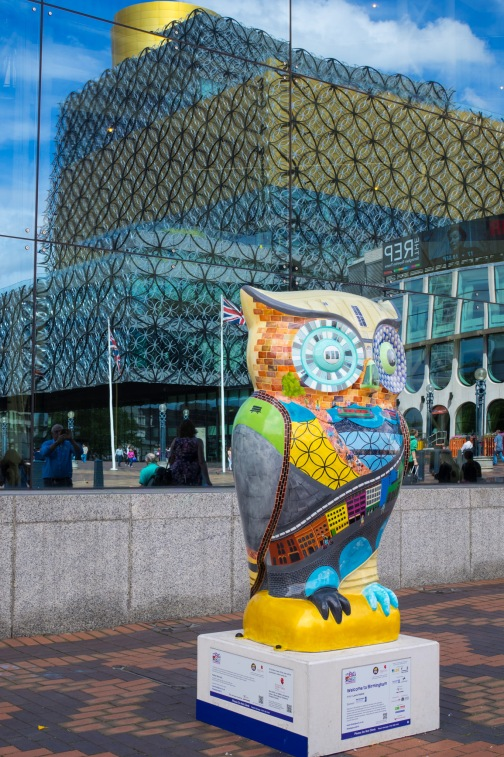 The Big Hoot and Library of Birmingham