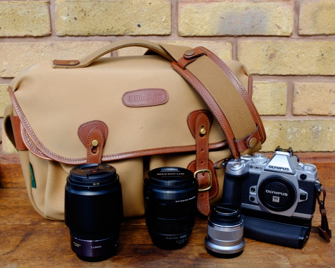 Billingham Hadley Pro with Olympus and Panasonic Kit