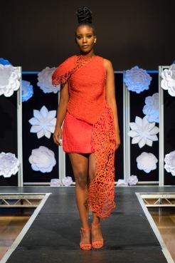 Designer: Angela Plummer, Model: Choko She