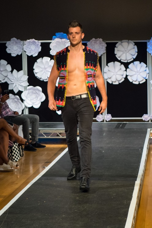 Designer: Tsitsi Fred, Model: Rich Smith