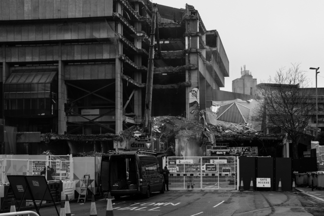 The End of a Brutalist Icon