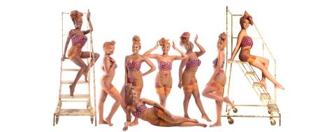 Miss Zimbabwe UK Group Shot