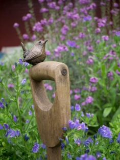 Wren on Fork by Barney Yendall