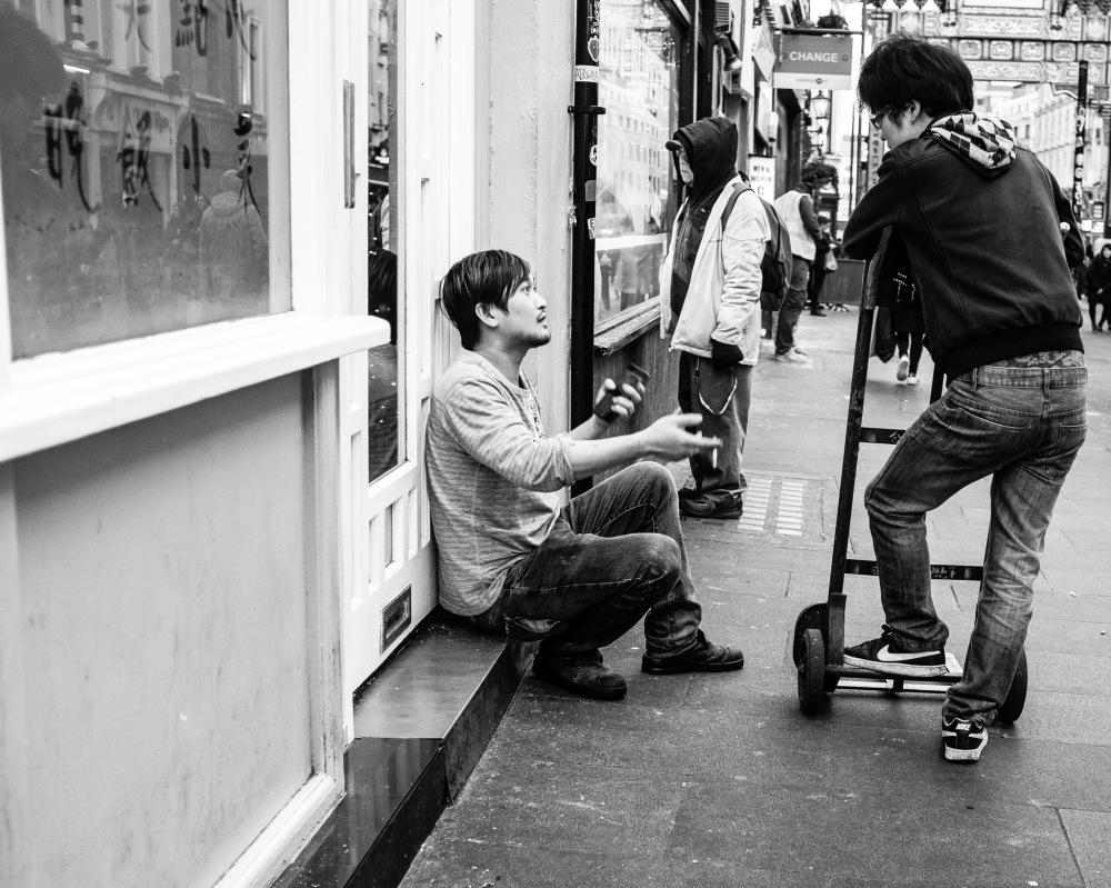 Chinatown Conversation