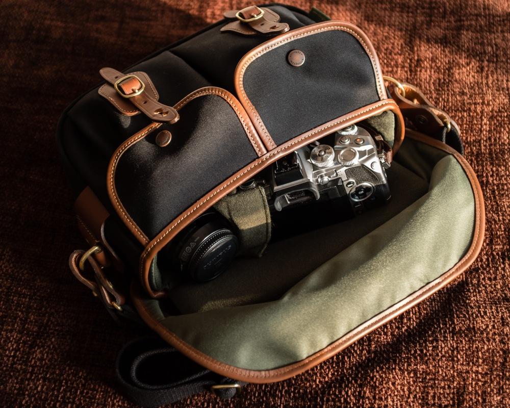Billingham Hadley Small Pro with Olympus OM-D
