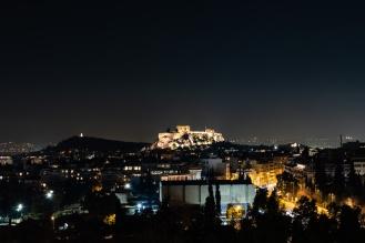 Acropolis, Athens (Evening) - Fujifim X-T3, 35mm f/2, ISO160, F/5.6 @ 5s