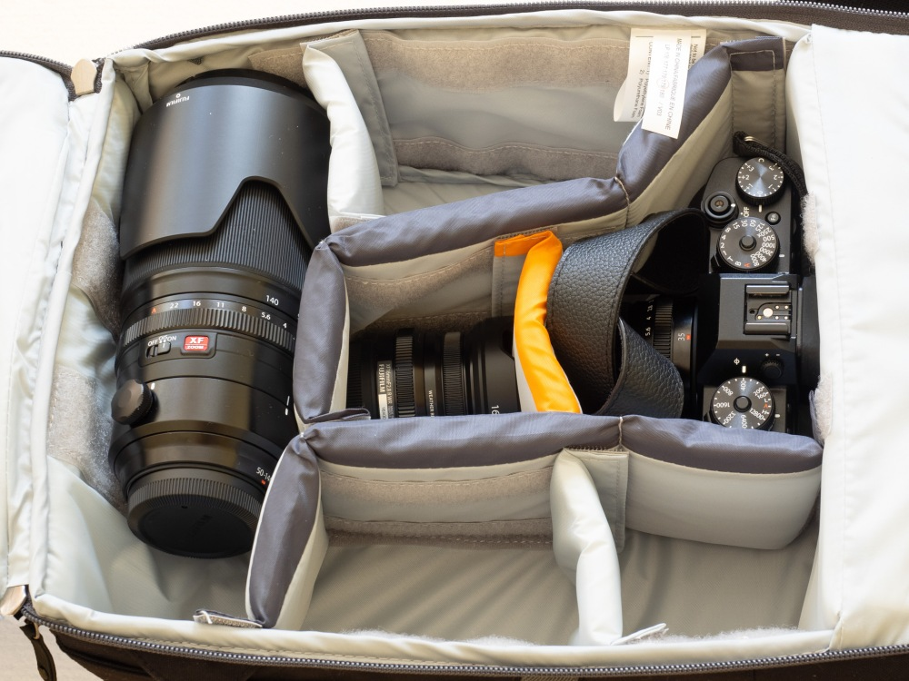 Lowepro m-Trekker BP 150 - Main Compartment View