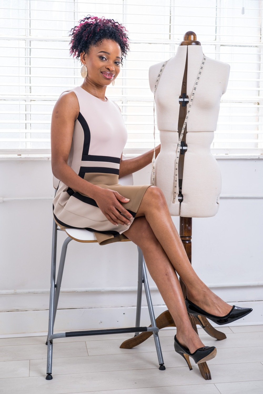 Fashion Designer Sandra Chinogurei