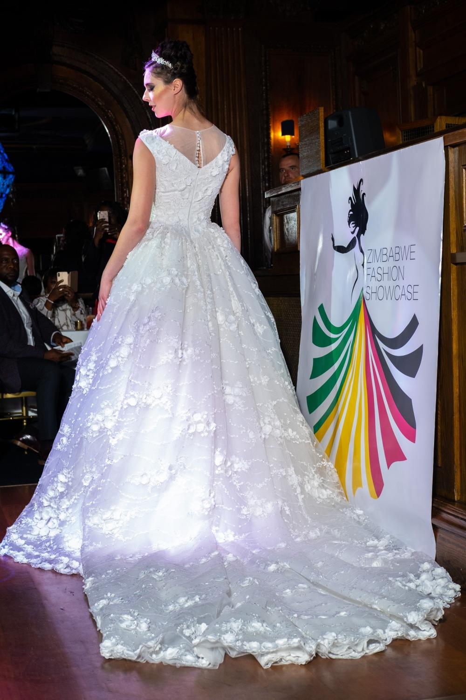 Designer: Sandra Chinogurei, Model: Sophie Levine