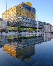 Birmingham's Library and Water Feature