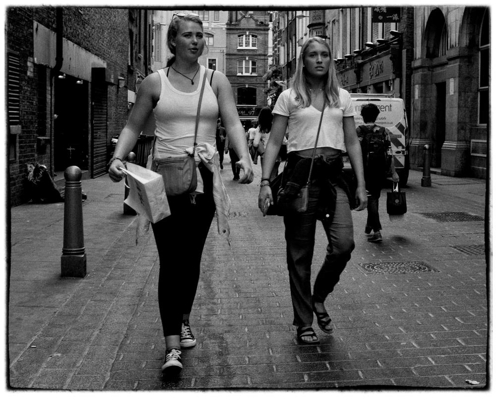 Two Girls in Soho