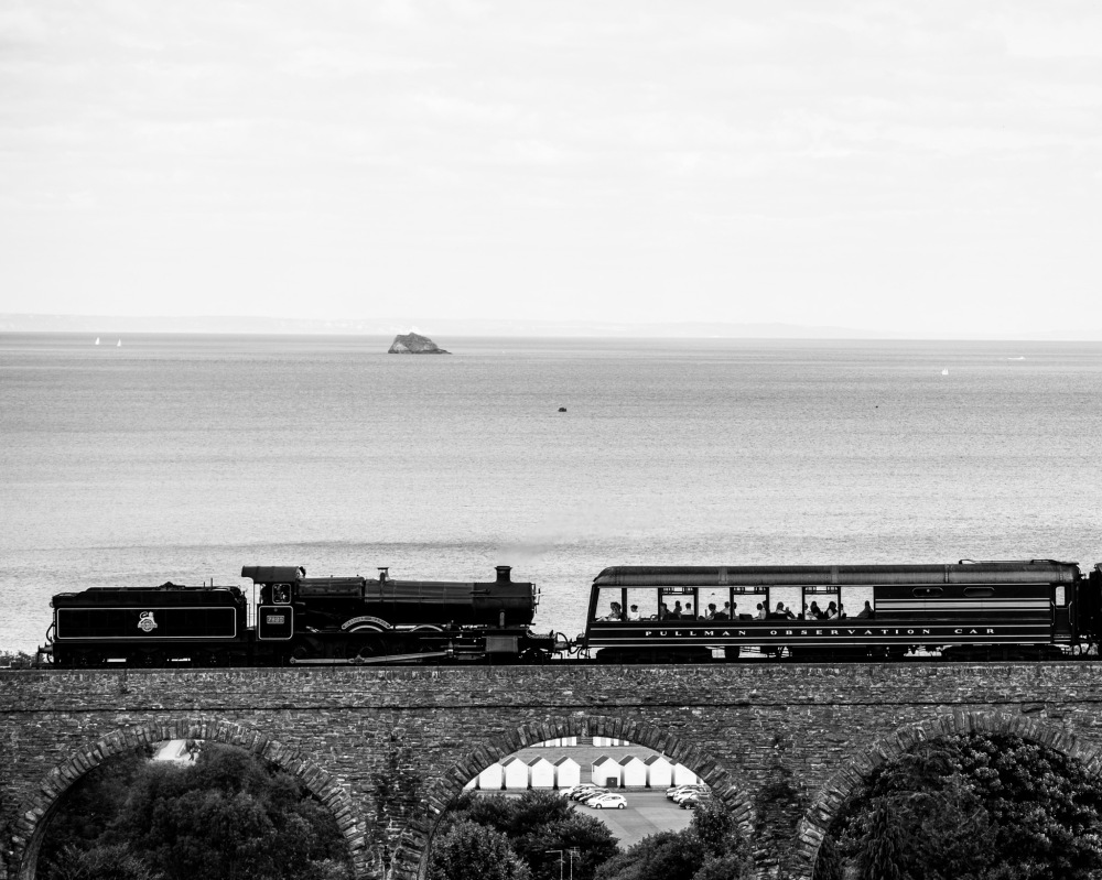 Dartmouth Steam Railway at Broadsands
