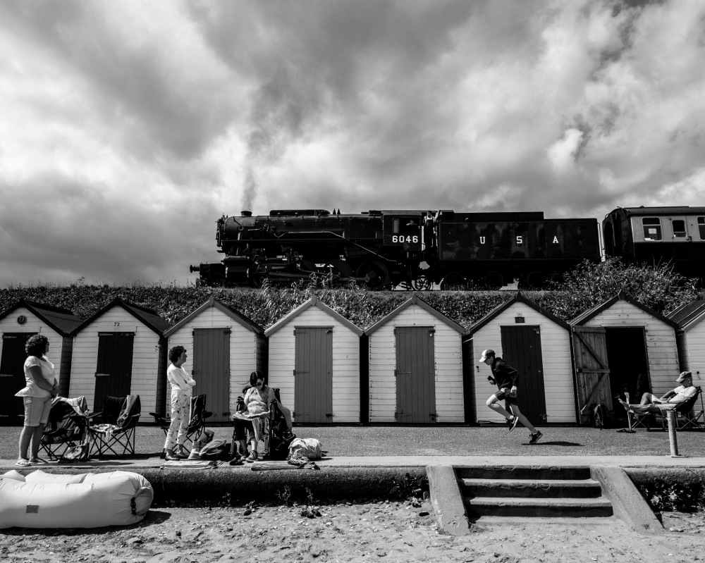 Dartmouth Steam Railway at Goodwin Sands