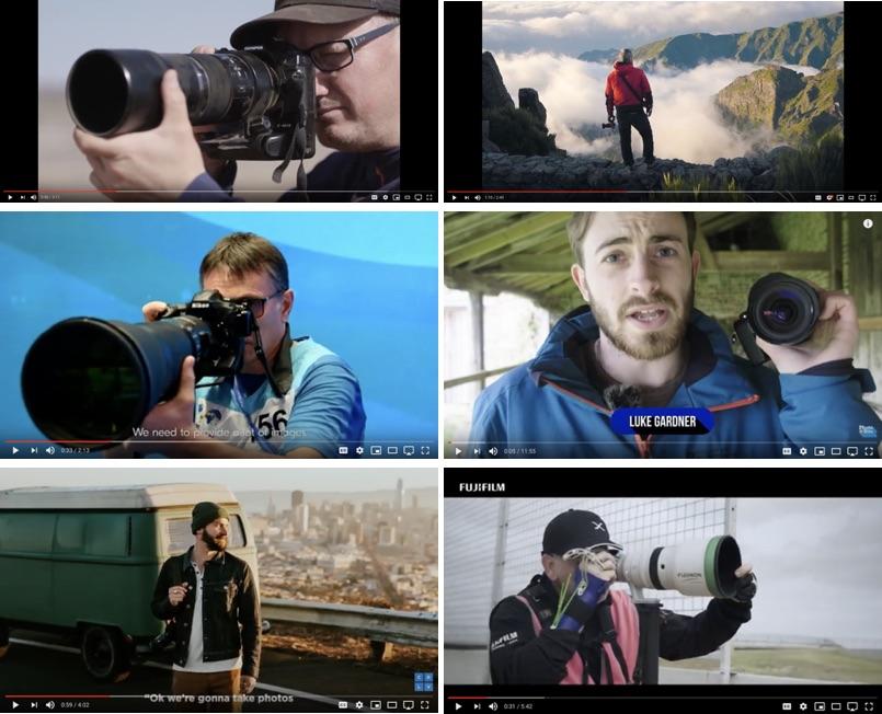 Photographer Videos